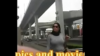 candid camera busty girl on the streets of mexico