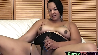 Beautiful bigtits bbw plays with her dong