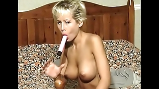 Another trip for Laura to see senile old Uncle Fiona, who still calls her &quot_Laurel&quot_ and wants to jizz on her tits after she'_s squished &quot_her&quot_ spongy cock up her twat
