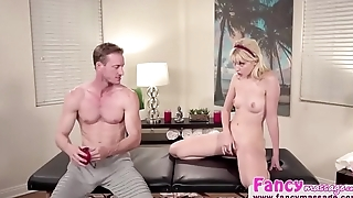 Petite babe Chloe Cherry delightfully takes a bigcock