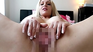 PREVIEW POV PUSSY - PUSSY GAPING GLASS DILDO FUCKING BIG TIT AUSSIE BLONDE IN BIKINI TWERKING PAWG JESSIE LEE PIERCE