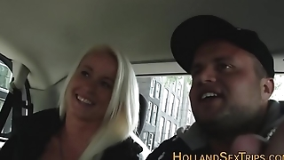 Dutch whore gets fingered