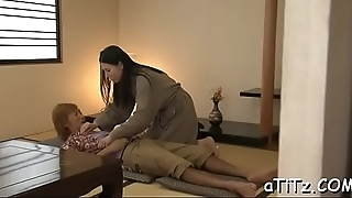 Sweet asian with beautiful boobs enjoys lusty love tunnel fingering