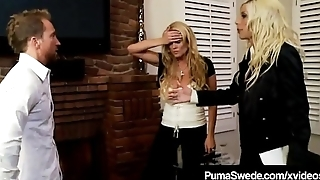 Swedish Star Puma Swede &amp_ Kelly Madison Blow Hubby!