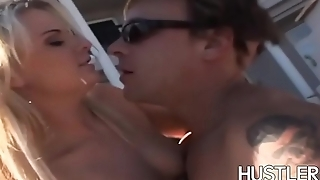 Trampstamped Cassie Courtland hammered and facial