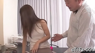 Lovely breasts japanese delights two demanding male rods