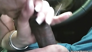 Random Mom Blows My Black Dick