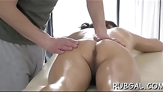 Hot babe with moist shapes receives an agile fuckmate