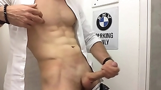 sexy man in uniform wank