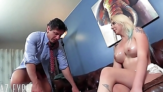 Dumb PAWG tricked &amp_ dicked by Doctor -Leya Falcon