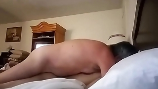 my step dad fucks my ass from behind when mom isn'_t home