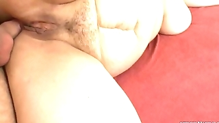 Ugly mature anal