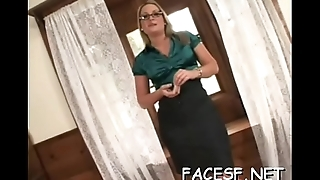 Hot angel gets her ass licked and fingered while engulfing