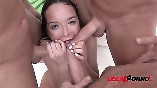 Francys Belle takes insane anal punishment with DAP &amp_ fisting SZ1962