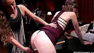 Hot sluts tormented at orgy party