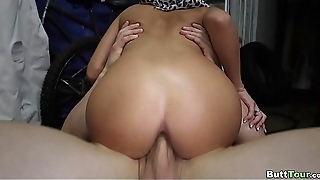 Tight Arab Pussy gets Drilled