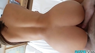 Date Slam - French bombshell fucked while on vacation in Bali - Part 2