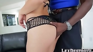 Latina Kristina Rose gets pussy banged with a bbc