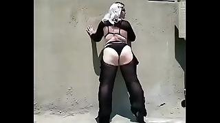 BBw pawg goth Annamarx twerking huge ass