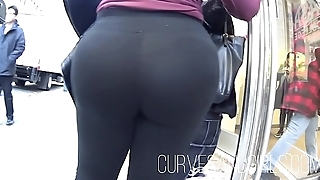 PHAT PLUM BUBBLE BUTT LATINA