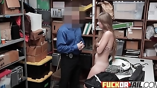 Awesome cutie gets banged from behind
